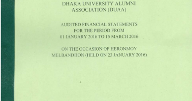 Audited Financial Statements for 01 January 2016 To March 2016