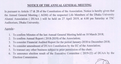 NOTICE OF THE ANNUAL GENERAL MEETING